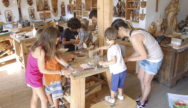 Wood-carving course - Thalerhof
